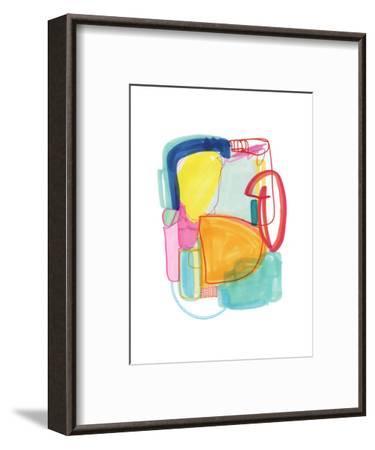 Abstract Drawing 2-Jaime Derringer-Framed Giclee Print