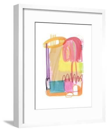Abstract Drawing 9-Jaime Derringer-Framed Giclee Print