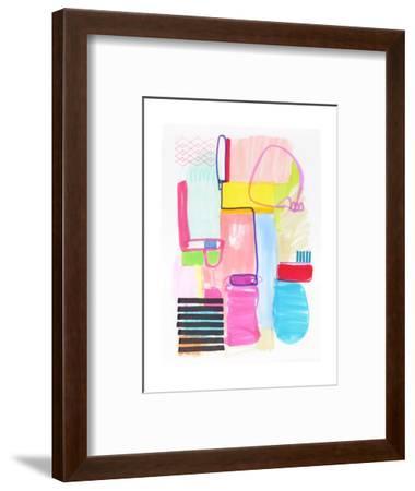 Abstract Drawing 10-Jaime Derringer-Framed Giclee Print