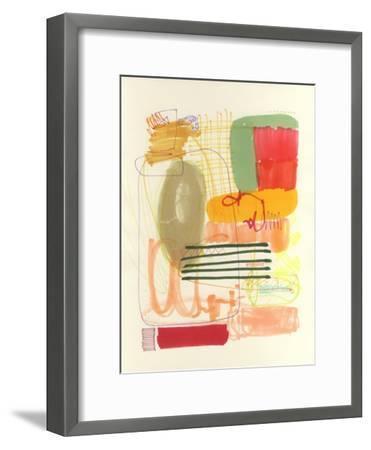 Abstract Drawing 12-Jaime Derringer-Framed Giclee Print