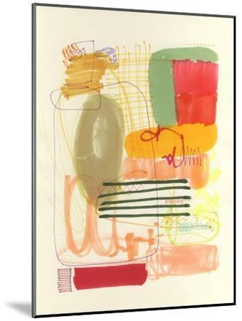 Abstract Drawing 12-Jaime Derringer-Mounted Giclee Print