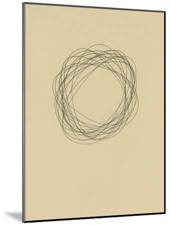 Circle 6-Jaime Derringer-Mounted Giclee Print
