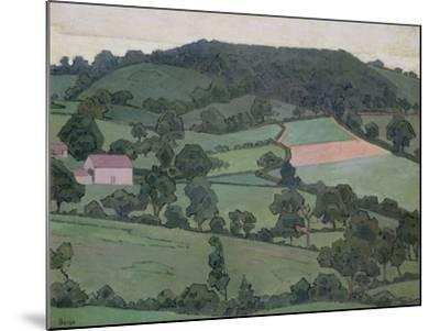 Rosemary La Vallee, 1916-Robert Polhill Bevan-Mounted Giclee Print