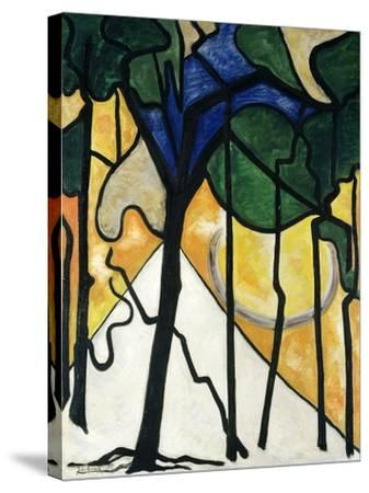 Wood, 1914-Jacoba van Heemskerck-Stretched Canvas Print