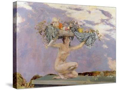 Iris, c.1915-Charles Sims-Stretched Canvas Print