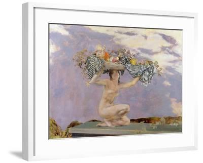 Iris, c.1915-Charles Sims-Framed Giclee Print