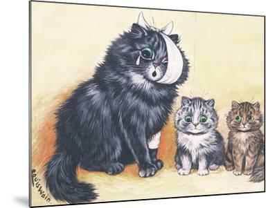 Cat-Astrophe!-Louis Wain-Mounted Giclee Print