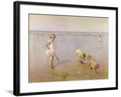 Beach Scene-Charles-Garabed Atamian-Framed Giclee Print