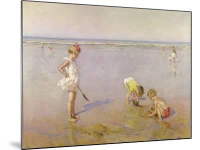 Beach Scene-Charles-Garabed Atamian-Mounted Giclee Print