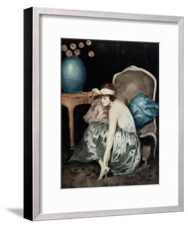 The Flapper-William Ablett-Framed Giclee Print