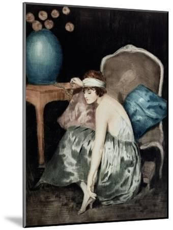 The Flapper-William Ablett-Mounted Giclee Print