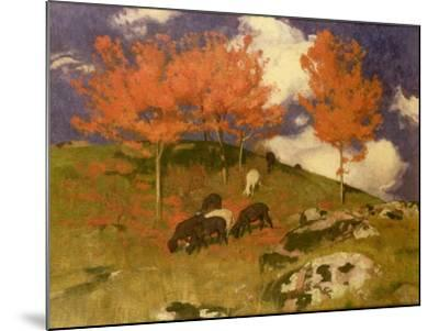 Wild Cherries in the Tyrol, c.1909-Adrian Scott Stokes-Mounted Giclee Print