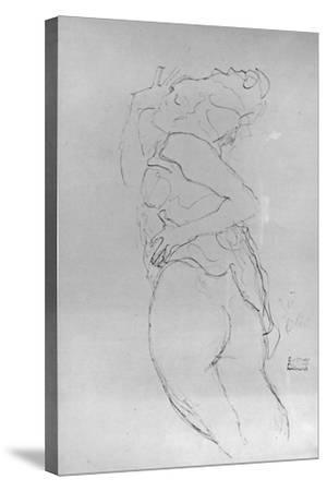 Young Woman, 1917-Gustav Klimt-Stretched Canvas Print
