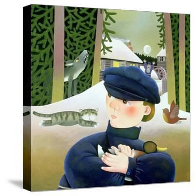 Peter and the Wolf-Reg Cartwright-Stretched Canvas Print