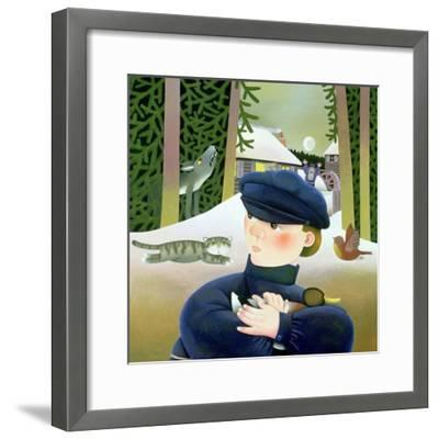 Peter and the Wolf-Reg Cartwright-Framed Giclee Print