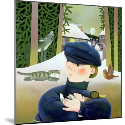 Peter and the Wolf-Reg Cartwright-Mounted Giclee Print