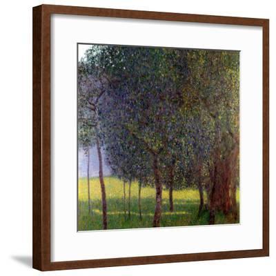 Fruit Trees, 1901-Gustav Klimt-Framed Giclee Print