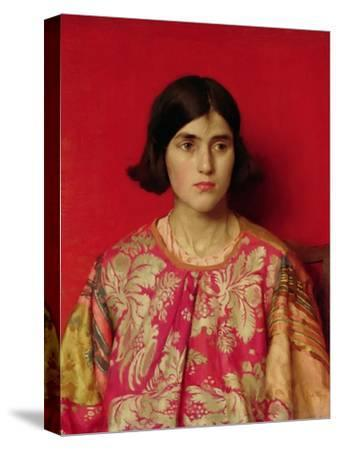 "The Exile: ""Heavy Is the Price I Paid for Love"", 1930-Thomas Cooper Gotch-Stretched Canvas Print"