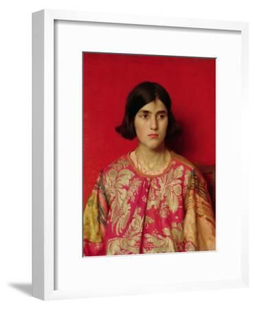 "The Exile: ""Heavy Is the Price I Paid for Love"", 1930-Thomas Cooper Gotch-Framed Giclee Print"