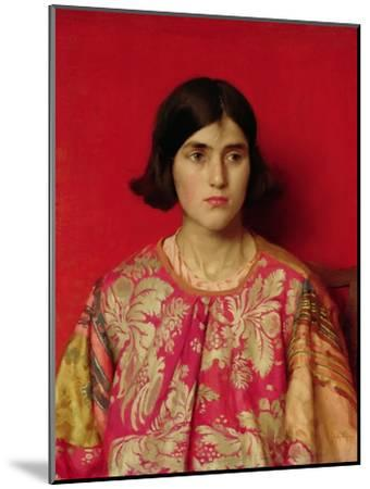 "The Exile: ""Heavy Is the Price I Paid for Love"", 1930-Thomas Cooper Gotch-Mounted Giclee Print"