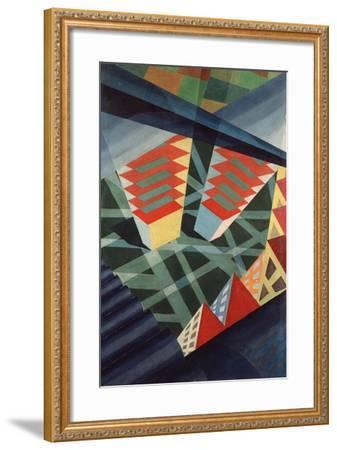 Perspectives in Flight, c.1926-Fedele Azari-Framed Giclee Print