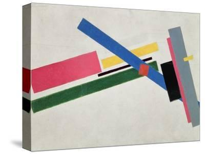 Suprematist Construction-Kasimir Malevich-Stretched Canvas Print