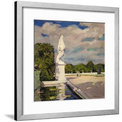 On the Terrace, Versailles, 1906-Alexander Jamieson-Framed Giclee Print