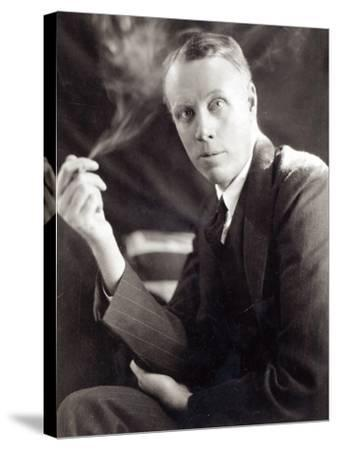 Sinclair Lewis (1885-1951), Photographed by Underwood and Underwood, 1930-Underwood & Underwood-Stretched Canvas Print