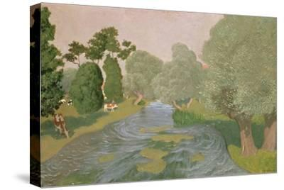 Normandy Landscape, 1903-F?lix Vallotton-Stretched Canvas Print