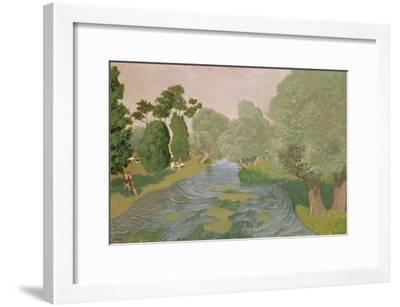 Normandy Landscape, 1903-F?lix Vallotton-Framed Giclee Print
