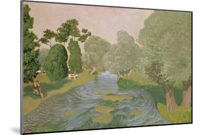 Normandy Landscape, 1903-F?lix Vallotton-Mounted Giclee Print