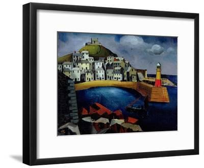 The Harbour, 1926-Christopher Wood-Framed Giclee Print
