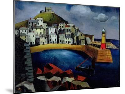 The Harbour, 1926-Christopher Wood-Mounted Giclee Print