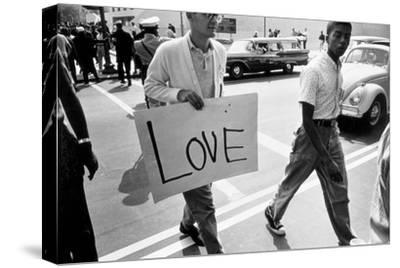 The March on Washington: Love, 28th August 1963-Nat Herz-Stretched Canvas Print