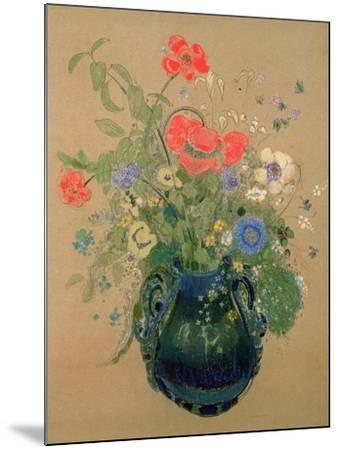 Vase of Flowers, c.1905-08-Odilon Redon-Mounted Giclee Print