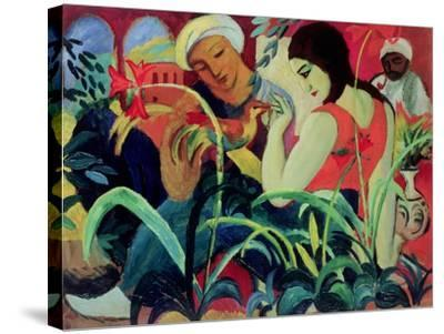 Oriental Women (Odalisques), 1912-Auguste Macke-Stretched Canvas Print