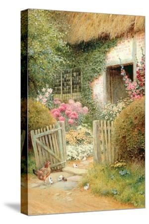 The Visitors-Arthur Claude Strachan-Stretched Canvas Print