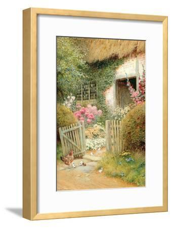 The Visitors-Arthur Claude Strachan-Framed Giclee Print
