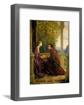 The End of the Quest, 1921-Frank Bernard Dicksee-Framed Giclee Print