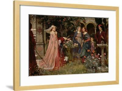 The Enchanted Garden, c.1916-17-John William Waterhouse-Framed Giclee Print