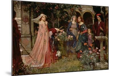 The Enchanted Garden, c.1916-17-John William Waterhouse-Mounted Giclee Print