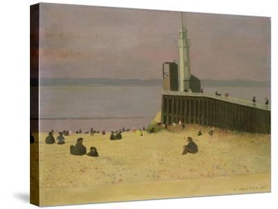 The Jetty at Honfleur, 1920-F?lix Vallotton-Stretched Canvas Print