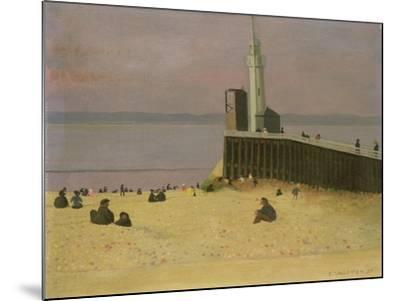 The Jetty at Honfleur, 1920-F?lix Vallotton-Mounted Giclee Print