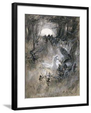 The Court of Faerie, 1906-Thomas Maybank-Framed Giclee Print