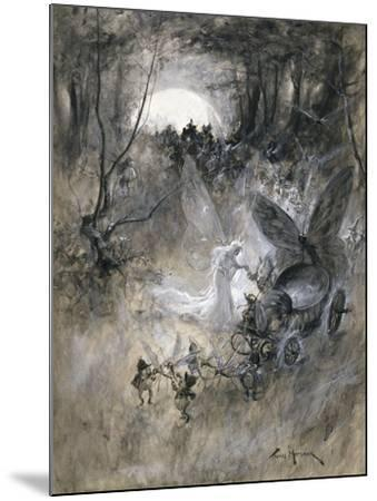 The Court of Faerie, 1906-Thomas Maybank-Mounted Giclee Print