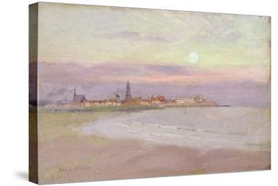 Village in Friesland, 1900-Adrian Scott Stokes-Stretched Canvas Print