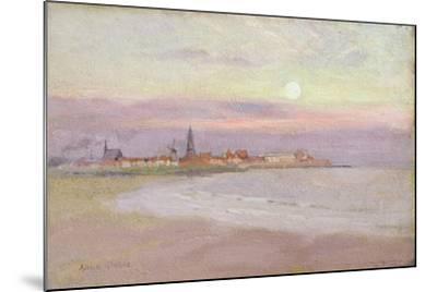 Village in Friesland, 1900-Adrian Scott Stokes-Mounted Giclee Print