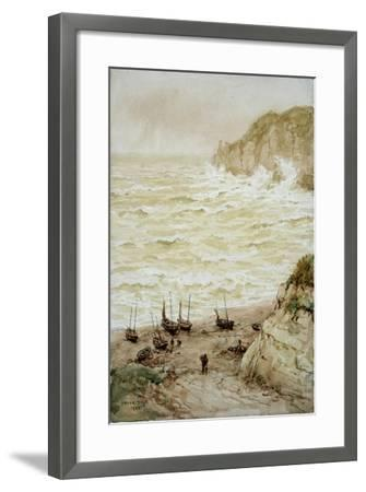 Beer Cove in a Storm, 1922-Frank Dadd-Framed Giclee Print