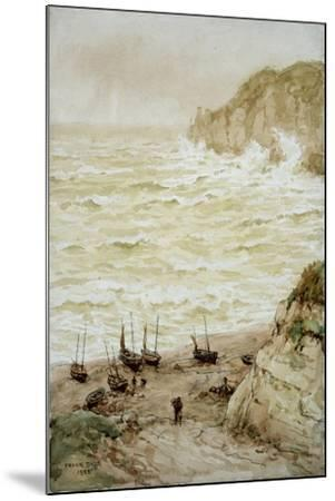 Beer Cove in a Storm, 1922-Frank Dadd-Mounted Giclee Print