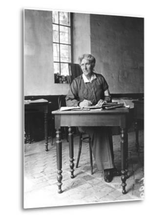 Mrs Harley (D.1917) at the Abbey of Royaumont, 1915-Jacques Moreau-Metal Print